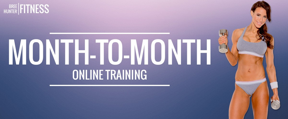 monthly online fitness training