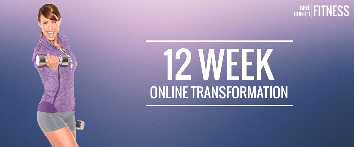 12 week online fitness transformation